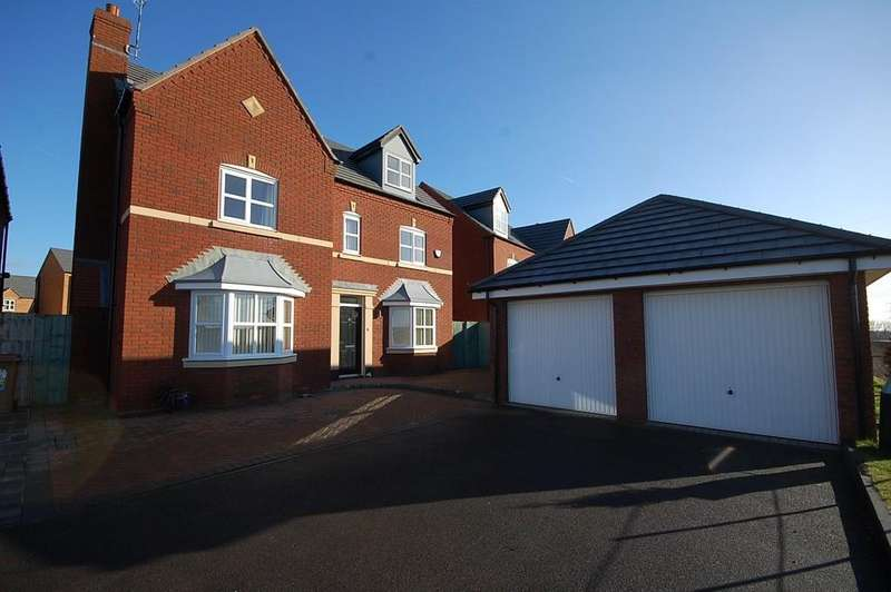 5 Bedrooms Detached House for sale in Linby Way, Waterside Village, St. Helens