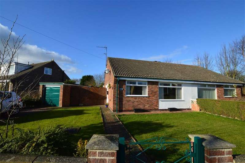 2 Bedrooms Semi Detached Bungalow for sale in St Nicholas Drive, Hornsea, East Yorkshire