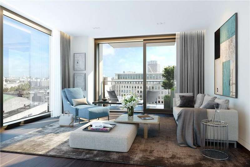 Studio Flat for sale in Southbank Place, Belvedere Road, London, SE1