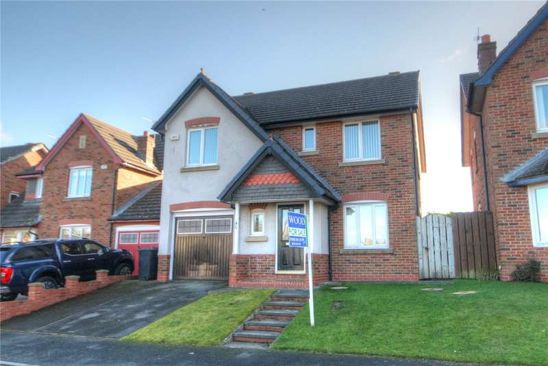 4 Bedrooms Detached House for sale in Barrington Meadows, Bishop Auckland, County Durham, DL14