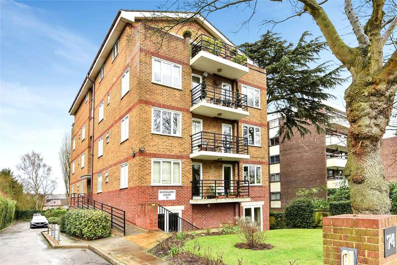 2 Bedrooms Flat for sale in Invergarry Court, 74 Station Road, New Barnet
