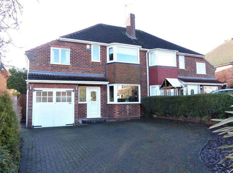 4 Bedrooms Semi Detached House for sale in Eastleigh Croft, Sutton Coldfield
