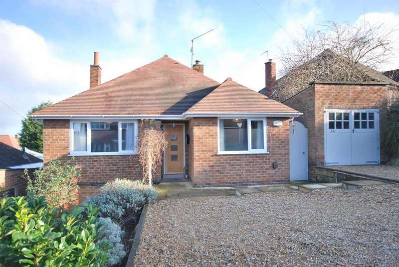 2 Bedrooms Detached Bungalow for sale in Covert Crescent, Radcliffe-On-Trent, Nottingham