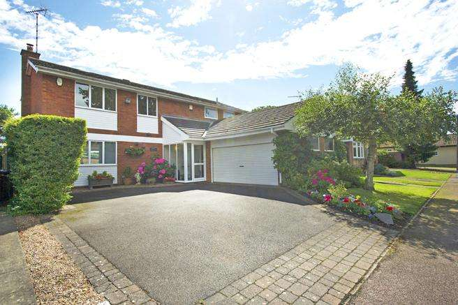 4 Bedrooms Detached House for sale in 27 Smalls Croft, Woodborough, Nottinghamshire NG14 6EY