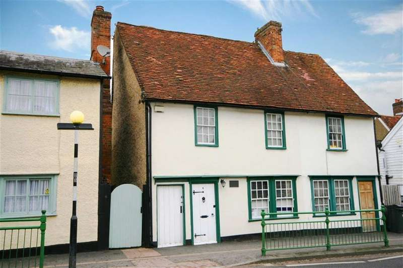 2 Bedrooms End Of Terrace House for sale in Baldock Road, Buntingford
