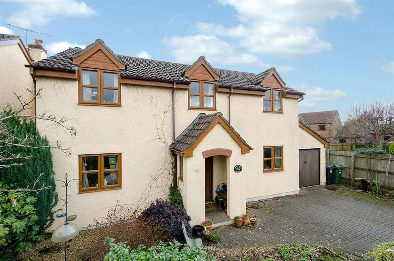 4 Bedrooms Detached House for sale in Kellways, Backwell, Bristol