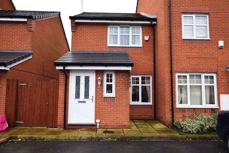 2 Bedrooms End Of Terrace House for sale in Deerfield Close, Blackbrook, St. Helens