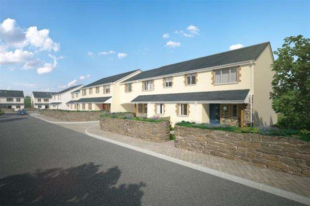 3 Bedrooms Terraced House for rent in Trewin Place, Threemilestone, Truro