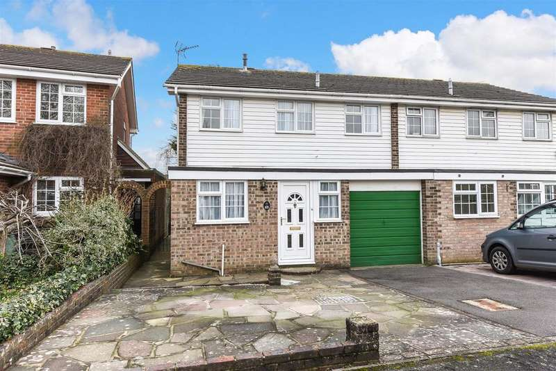 4 Bedrooms Semi Detached House for sale in Cherry Avenue, Yapton