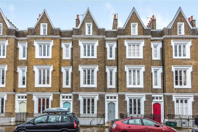 4 Bedrooms Terraced House for sale in Lonsdale Square, Islington, London, N1