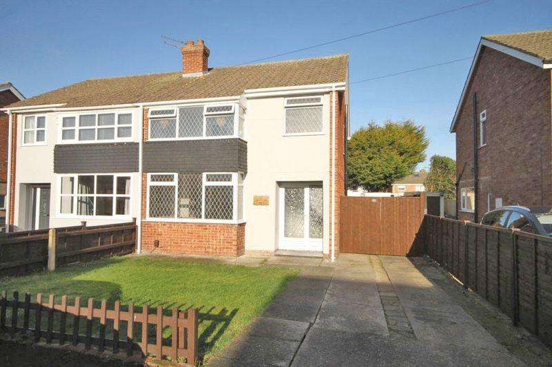3 Bedrooms Semi Detached House for sale in HURSTLEA DRIVE, HUMBERSTON