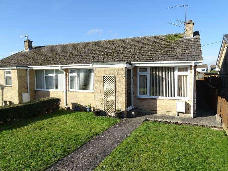 2 Bedrooms Semi Detached Bungalow for sale in Sherwood Walk, Melksham