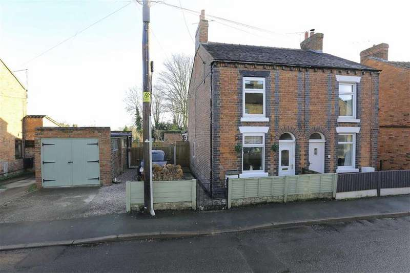 2 Bedrooms Semi Detached House for sale in Osborne Grove, Crewe