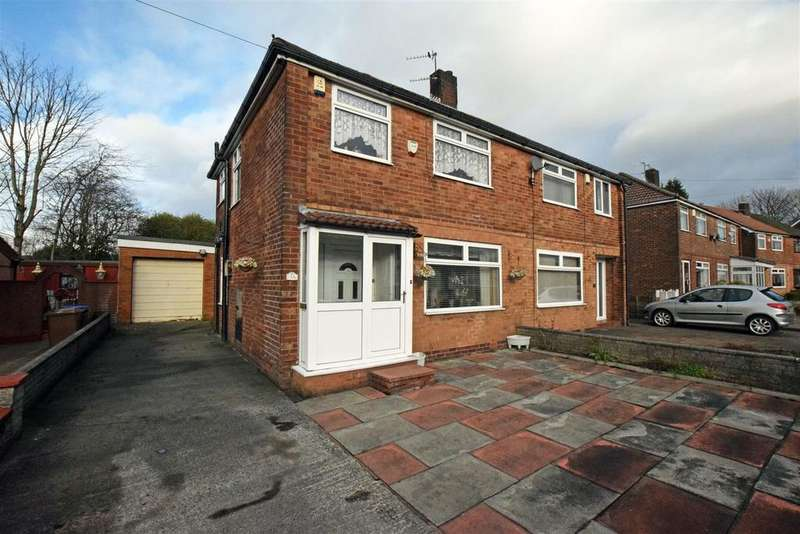 3 Bedrooms Semi Detached House for sale in Roundthorn Road, Alkrington, Middleton