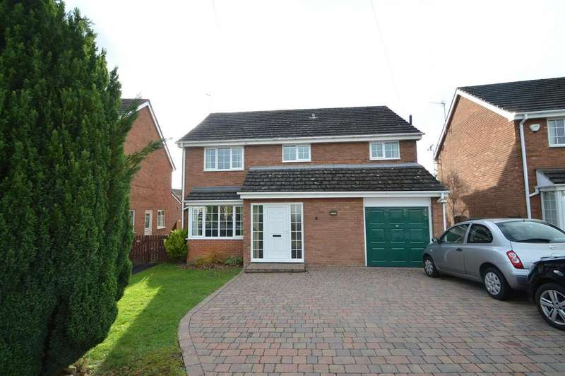 5 Bedrooms Detached House for sale in 5 Willow Drive, Hanwood, Shrewsbury, SY5 8RF