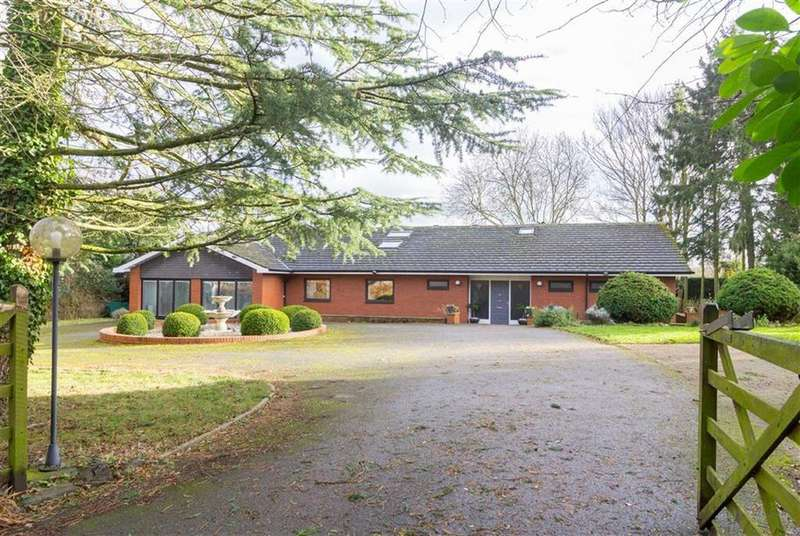 5 Bedrooms Detached Bungalow for sale in Wide Lane, Hathern, LE12