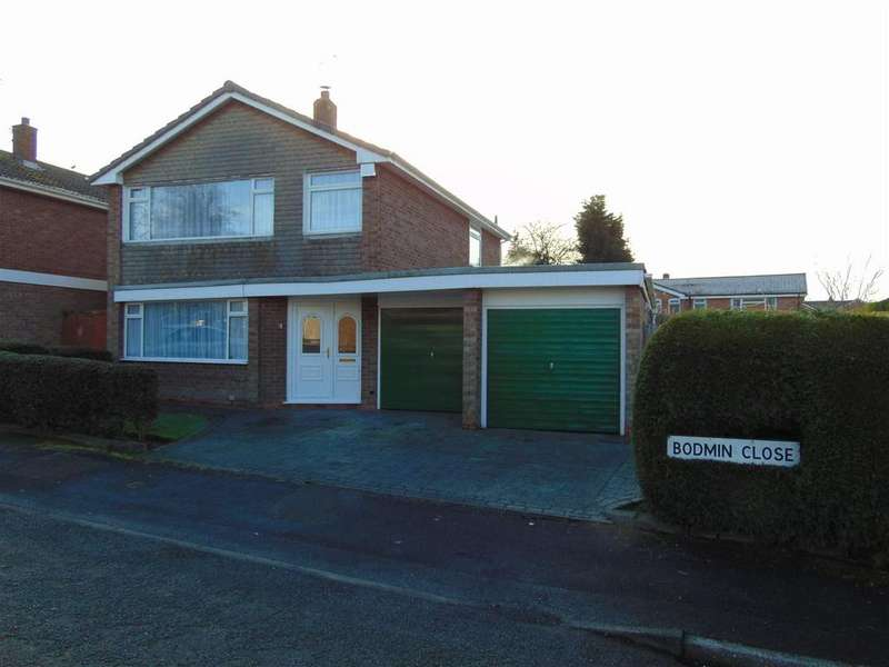 4 Bedrooms Detached House for sale in Bodmin Close, Park Hall, Walsall