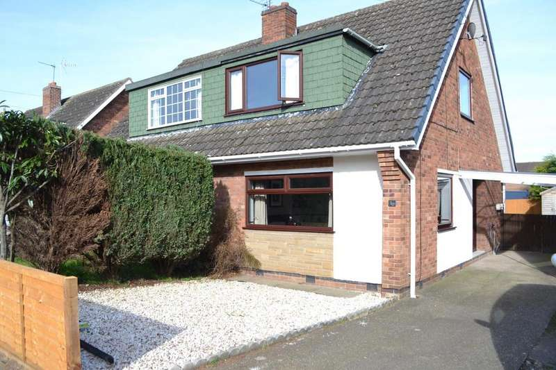 3 Bedrooms Semi Detached House for sale in Meadow Road, Scunthorpe, North Lincolnshire, DN17