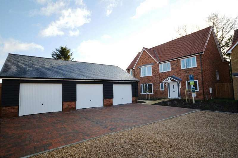 5 Bedrooms Detached House for sale in 1 Buttercup Close, The Meads, Little Canfield