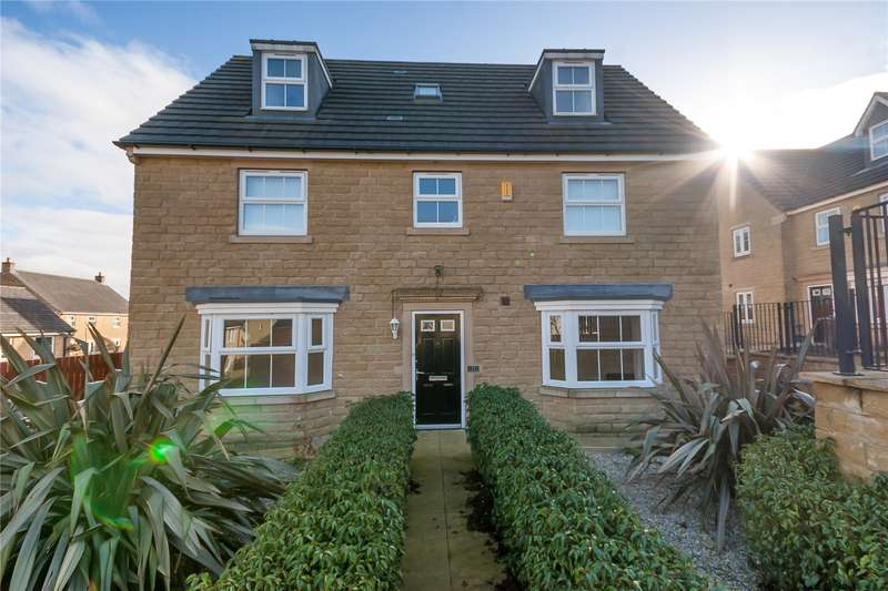 5 Bedrooms Detached House for sale in Cask Court, Fountain Head Village, HALIFAX, West Yorkshire, HX2