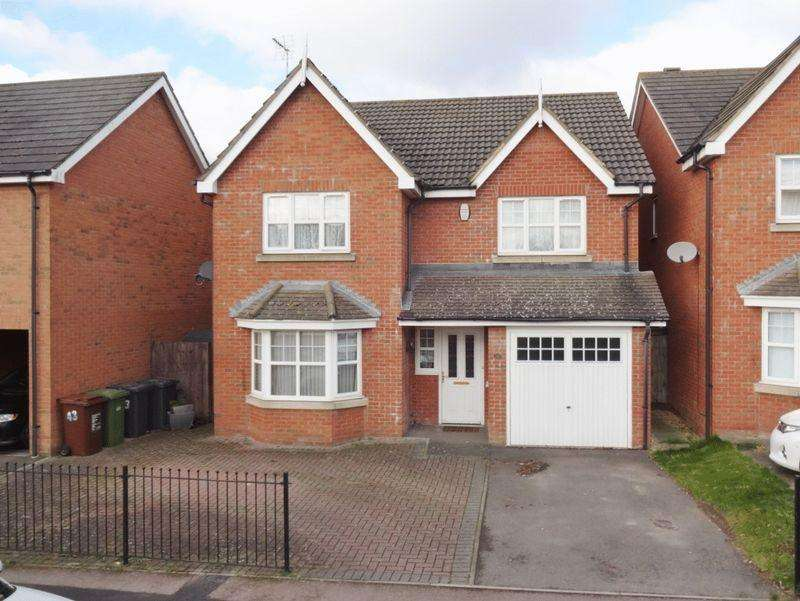 4 Bedrooms Detached House for sale in Boughton Road, Oakley Vale, Corby