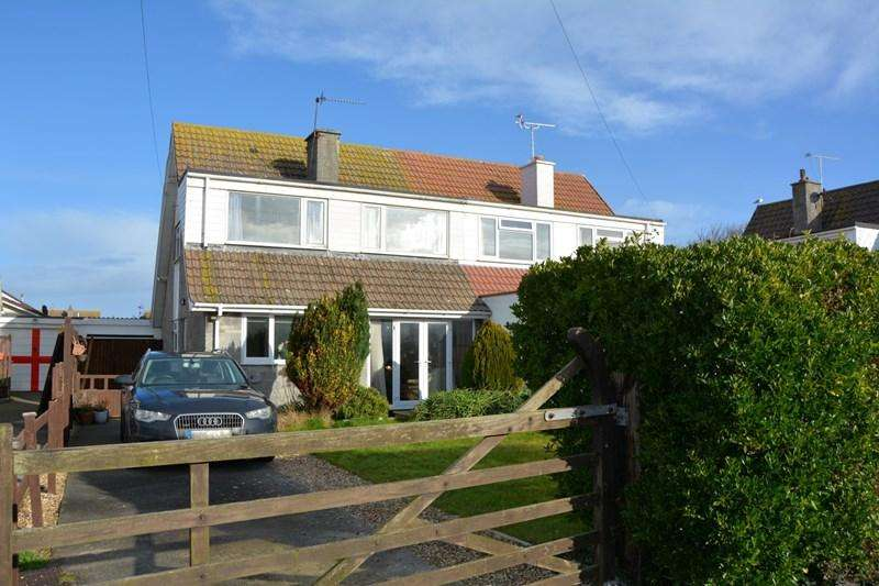 3 Bedrooms Semi Detached House for sale in Church House Road, Berrow