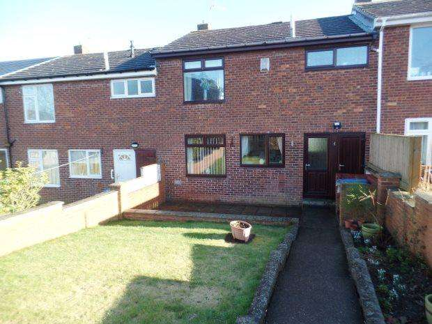 3 Bedrooms Terraced House for sale in DODDS CLOSE, WHEATLEY HILL, PETERLEE AREA VILLAGES