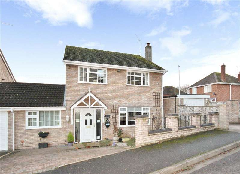 4 Bedrooms Detached House for sale in Ashdown Close, St John's, Worcester, WR2
