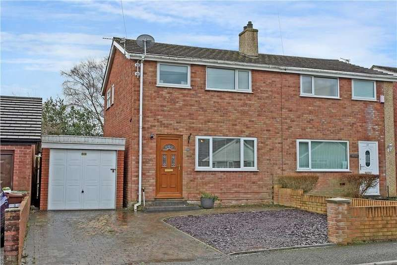 3 Bedrooms Semi Detached House for sale in Ffordd Cynan, Bangor, North Wales