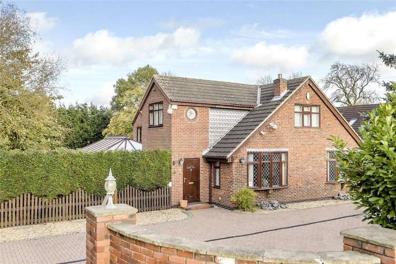 4 Bedrooms Detached House for sale in Melton Road, Stanton-on-the-Wolds, Keyworth, Nottingham, NG12