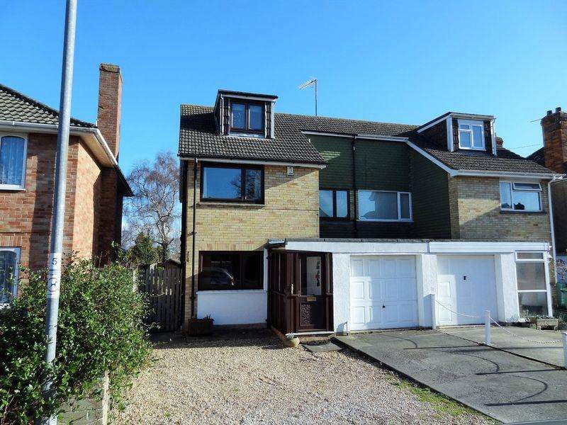4 Bedrooms Semi Detached House for sale in Queenswood Road, Bridgwater