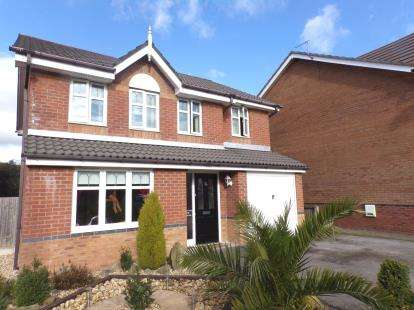 4 Bedrooms Detached House for sale in Perceval Way, Hindley, Wigan, Greater Manchester, WN2