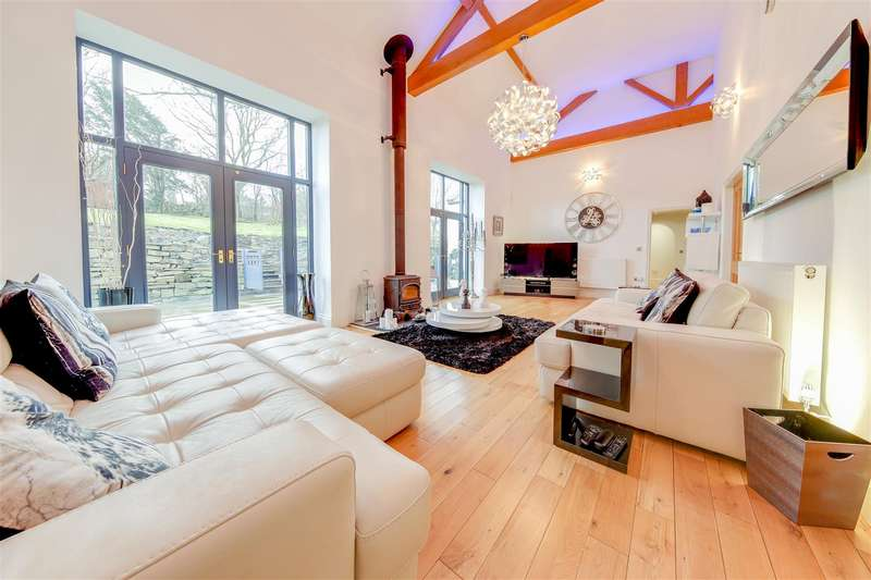 4 Bedrooms Detached House for sale in Burnley Road, Loveclough, Rossendale
