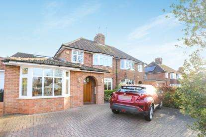 4 Bedrooms Semi Detached House for sale in Willian Road, Hitchin, Hertfordshire, England