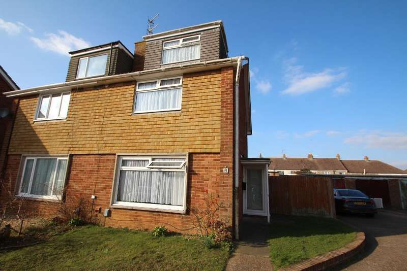 4 Bedrooms Semi Detached House for sale in Mill Close, Portslade, East Sussex, BN41 2DH