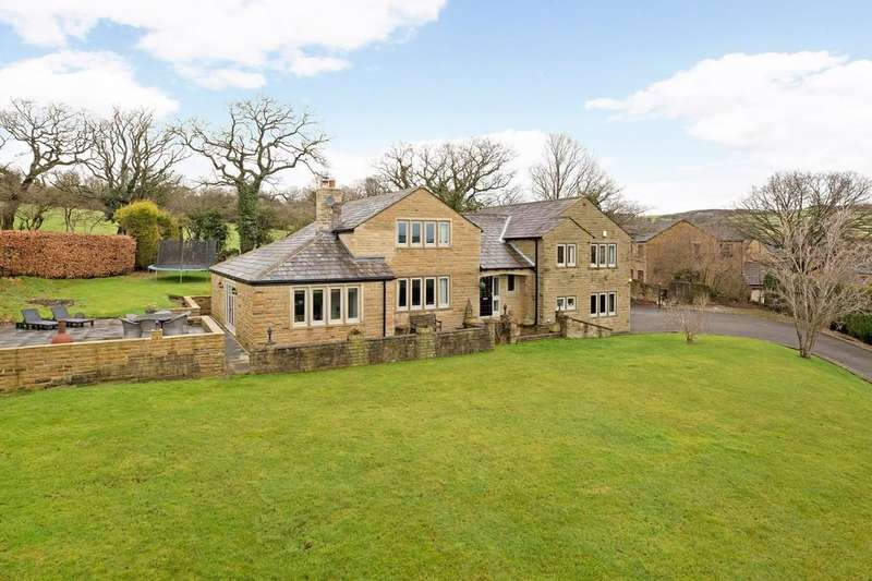 5 Bedrooms Detached House for sale in Bradley Rise, Silsden