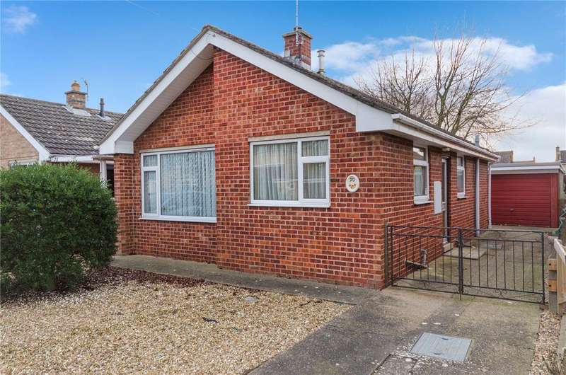 2 Bedrooms Detached Bungalow for sale in Russell Crescent, Sleaford, Lincolnshire, NG34