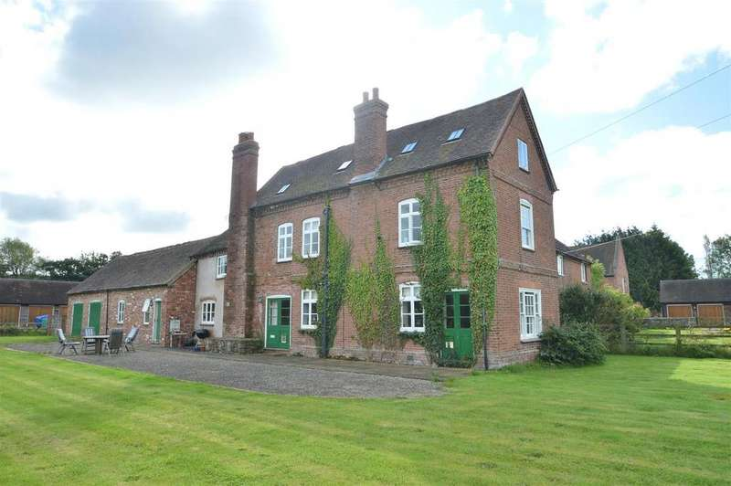 5 Bedrooms Semi Detached House for sale in Manor Farm, Leebotwood, Church Stretton SY6 6NA