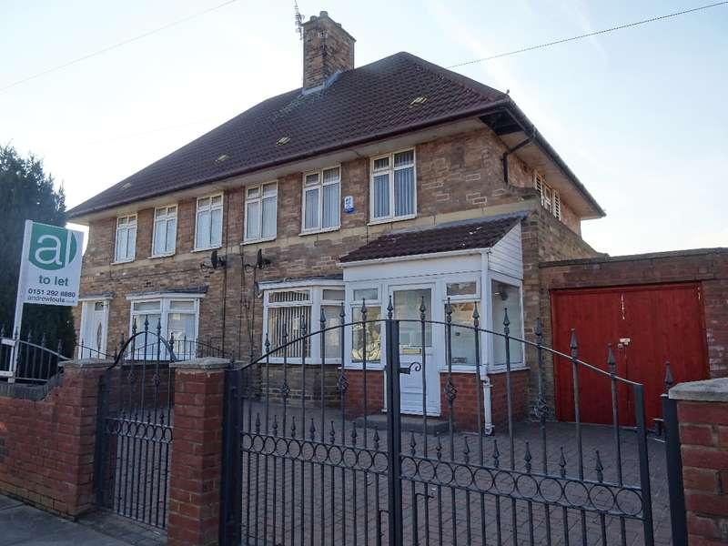 3 Bedrooms Semi Detached House for rent in Stockbridge Lane Huyton L36