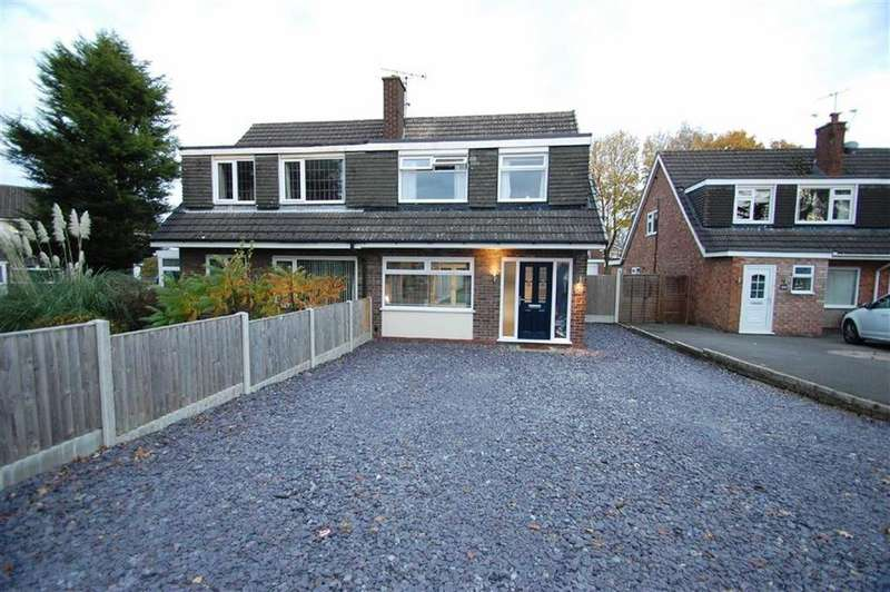 3 Bedrooms Semi Detached House for sale in Seal Road, Bramhall, Cheshire