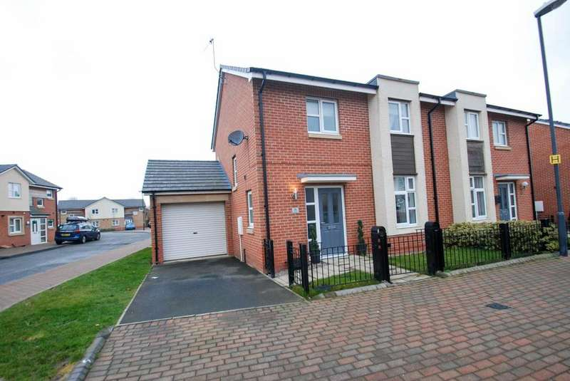 3 Bedrooms Semi Detached House for sale in Lynwood Way, South Shields