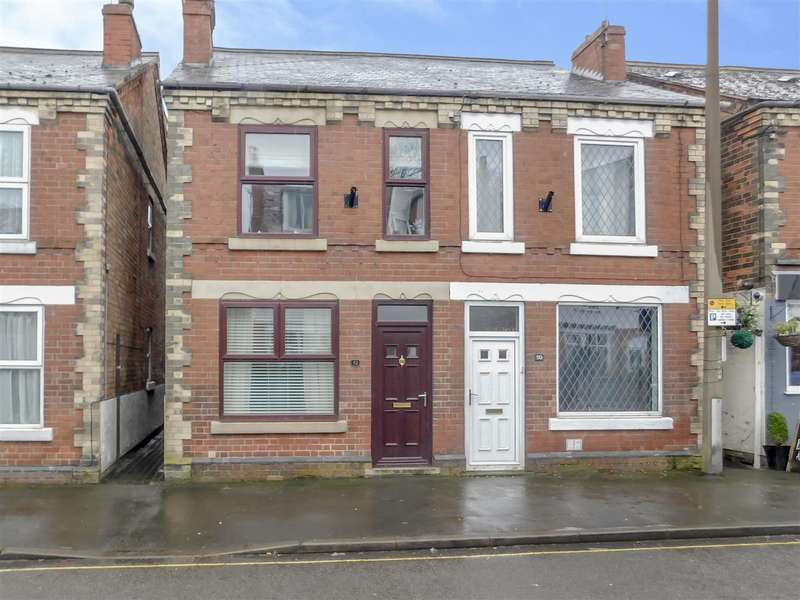 2 Bedrooms Semi Detached House for sale in Station Road, Draycott