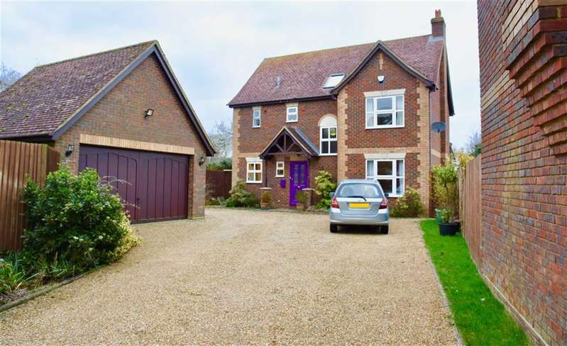 4 Bedrooms Detached House for sale in Walnut Acre, Marlborough Place, Toddington