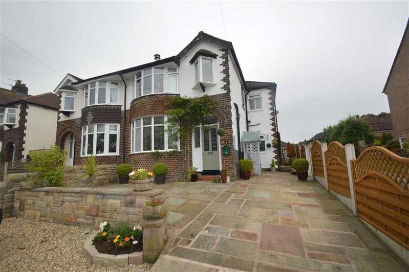3 Bedrooms Semi Detached House for sale in Walker Lane, Sutton, Macclesfield