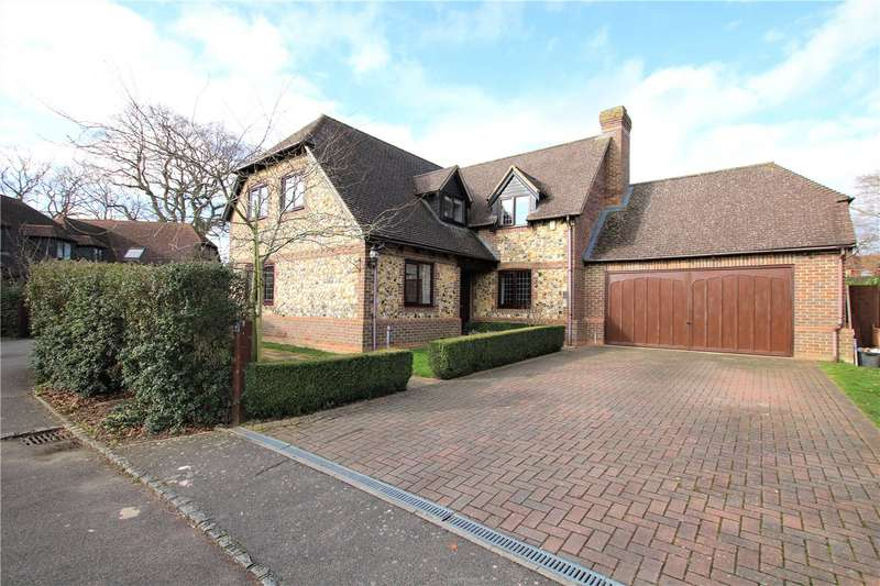4 Bedrooms Detached House for sale in Hill View, Spencers Wood, Reading, Berkshire, RG7