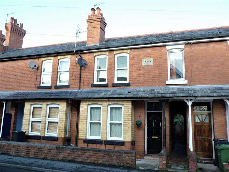 2 Bedrooms Terraced House for sale in Baysham Street, Hereford