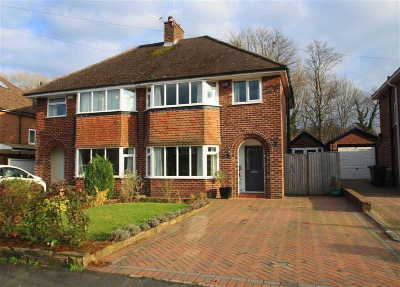 3 Bedrooms Semi Detached House for sale in Dean Drive, Wilmslow
