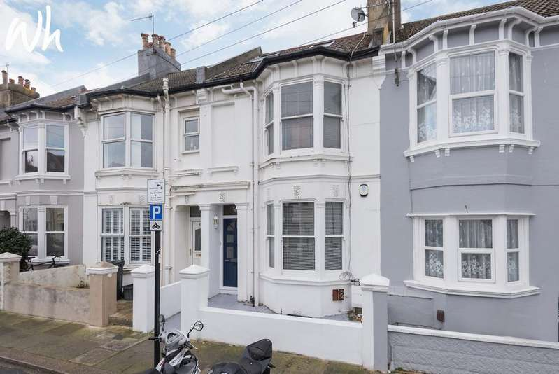 4 Bedrooms Terraced House for sale in Shakespeare Street, Hove BN3