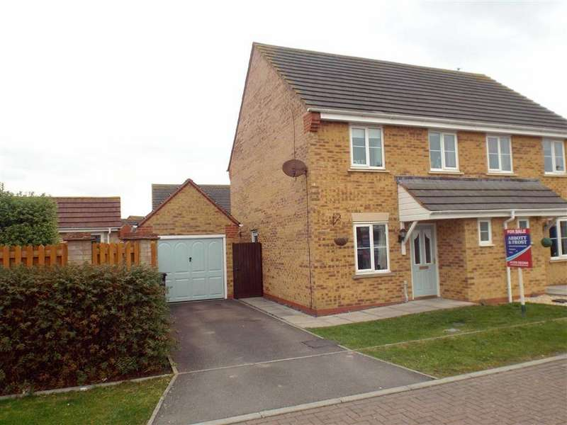 3 Bedrooms Semi Detached House for sale in Thorndike Way, Burnham-on-Sea