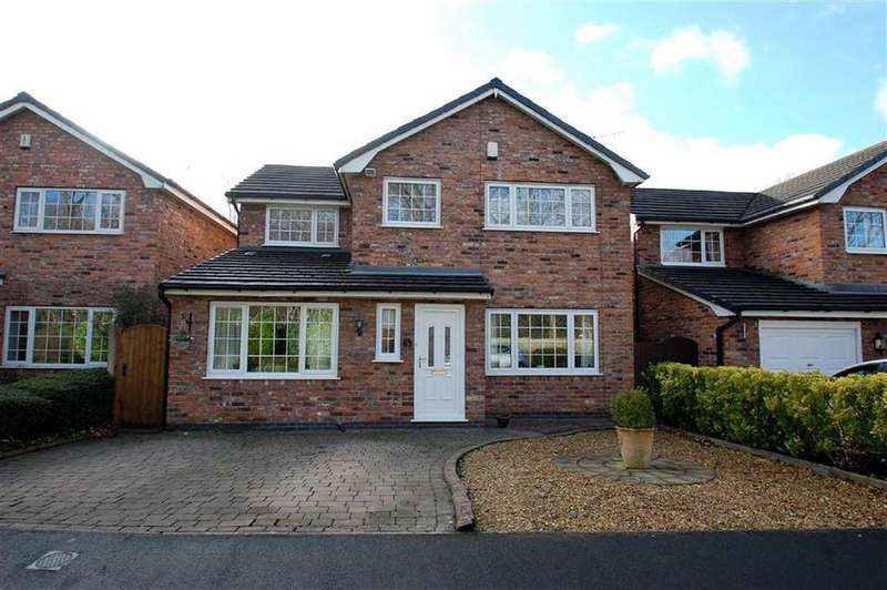 4 Bedrooms Detached House for sale in Holly Grange, Bramhall, Cheshire